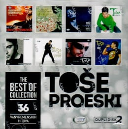 TOŠE PROESKI - THE BEST OF COLLECTION (2018) - Toše Proeski